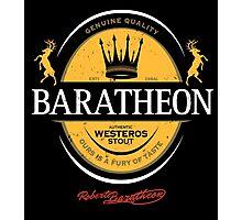 Baratheon Stout Photographic Print