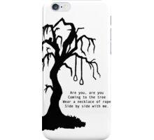 hanging tree. iPhone Case/Skin