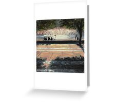 Fountain- Boston Greeting Card
