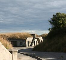 Desolate Fort Casey by JenniferDAdkison