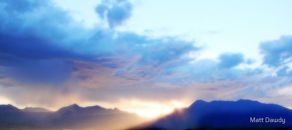 Misty Sunrise by Matt Dawdy