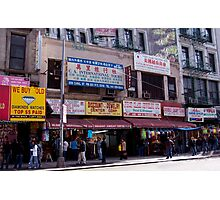 Canal Street, New York Photographic Print