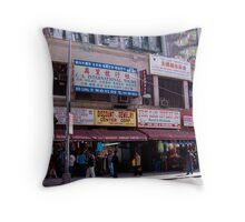 Canal Street, New York Throw Pillow