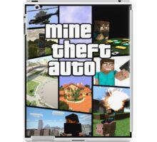Mine Theft Auto - Grand Theft Auto x Minecraft iPad Case/Skin