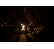 Night in the Garden Photographic Print