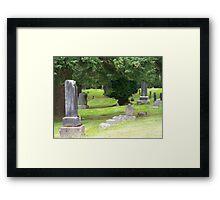 cemetery Framed Print