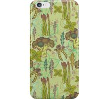 Green vegetables pattern. iPhone Case/Skin