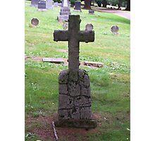 gravestone Photographic Print