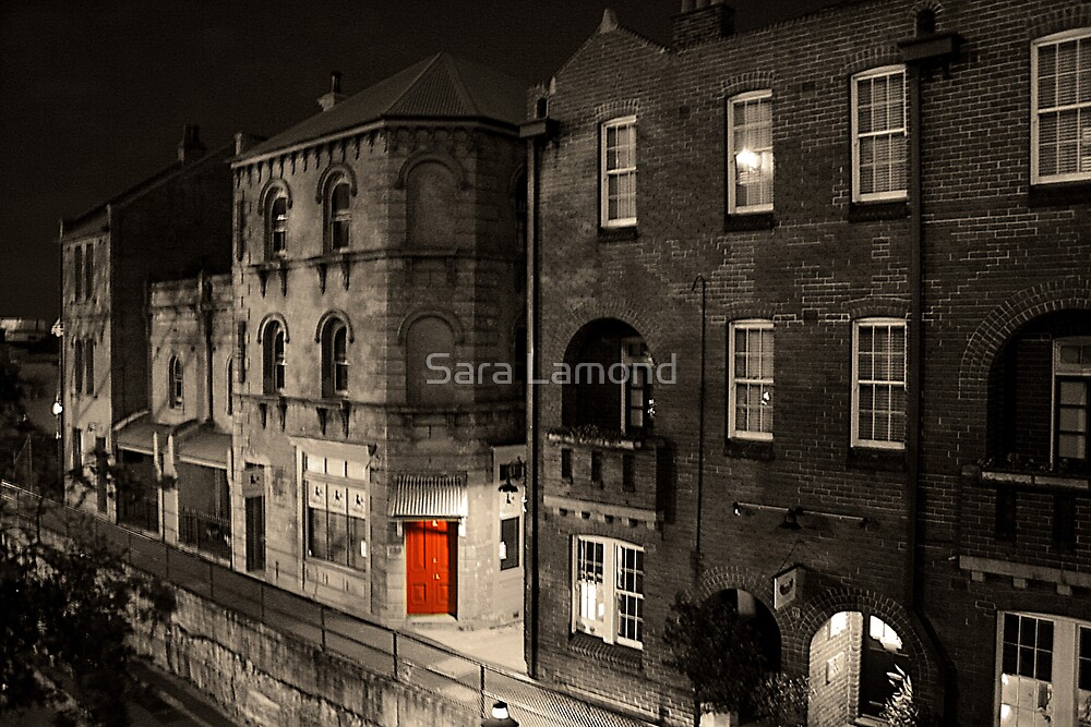 Red door by Sara Lamond
