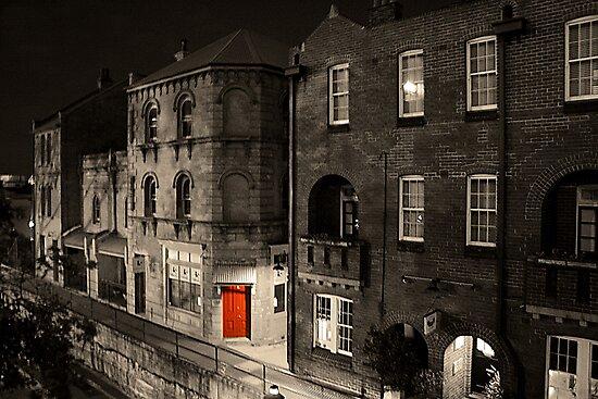 Red door by Sara Lamond