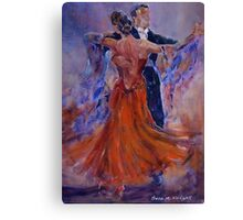 Ballroom Dancing – Dance Gallery 33 Canvas Print
