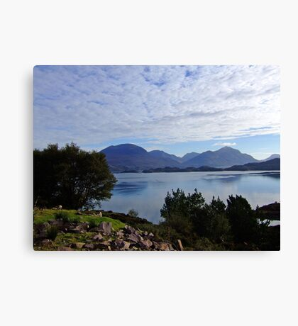 View from Applecross Road Canvas Print