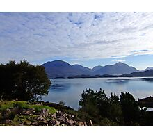 View from Applecross Road Photographic Print