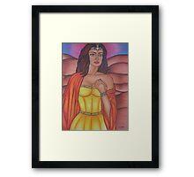 Hera - Queen of the Gods Framed Print