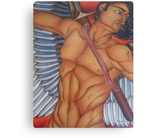 Michael - The Battle Angel Canvas Print