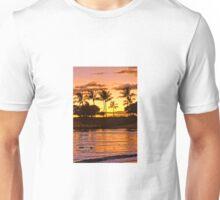 Sunset on Ohua Unisex T-Shirt