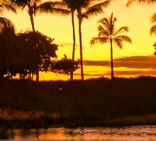 Sunset on Ohua Sticker