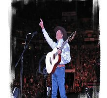 """""""George Strait: Artist of the Decade """"... prints and products by © Bob Hall"""