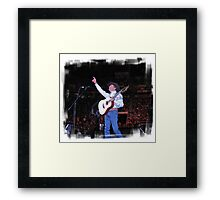 George Strait: Artist of the Decade  Framed Print