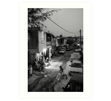Goodnight Port-au-Prince Art Print