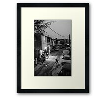Goodnight Port-au-Prince Framed Print