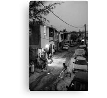 Goodnight Port-au-Prince Canvas Print