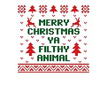 Filthy Animal Sweater Photographic Print