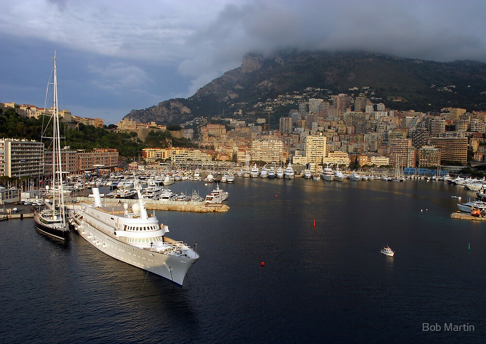 Monte Carlo Morning by Bob Martin
