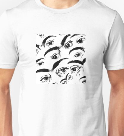 Eyes of Frida - Repeating Pattern Unisex T-Shirt