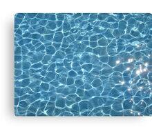 Blue Pool Canvas Print