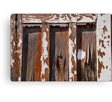 Outhouse Canvas Print