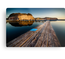 Old Planks of North Narrabeen Metal Print