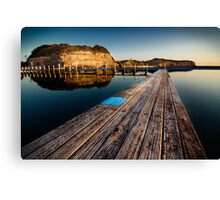 Old Planks of North Narrabeen Canvas Print