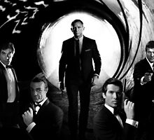 James Bond Five by Moondemon301