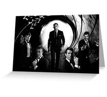 James Bond Five Greeting Card