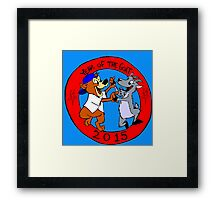 chicago's year of the goat  Framed Print