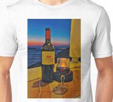 Wine in Fira Unisex T-Shirt