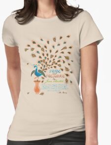Paisley Peacock Pride and Prejudice: Modern T-Shirt