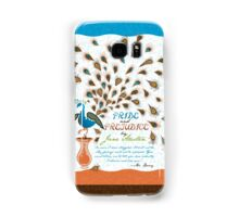 Paisley Peacock Pride and Prejudice: Modern Samsung Galaxy Case/Skin