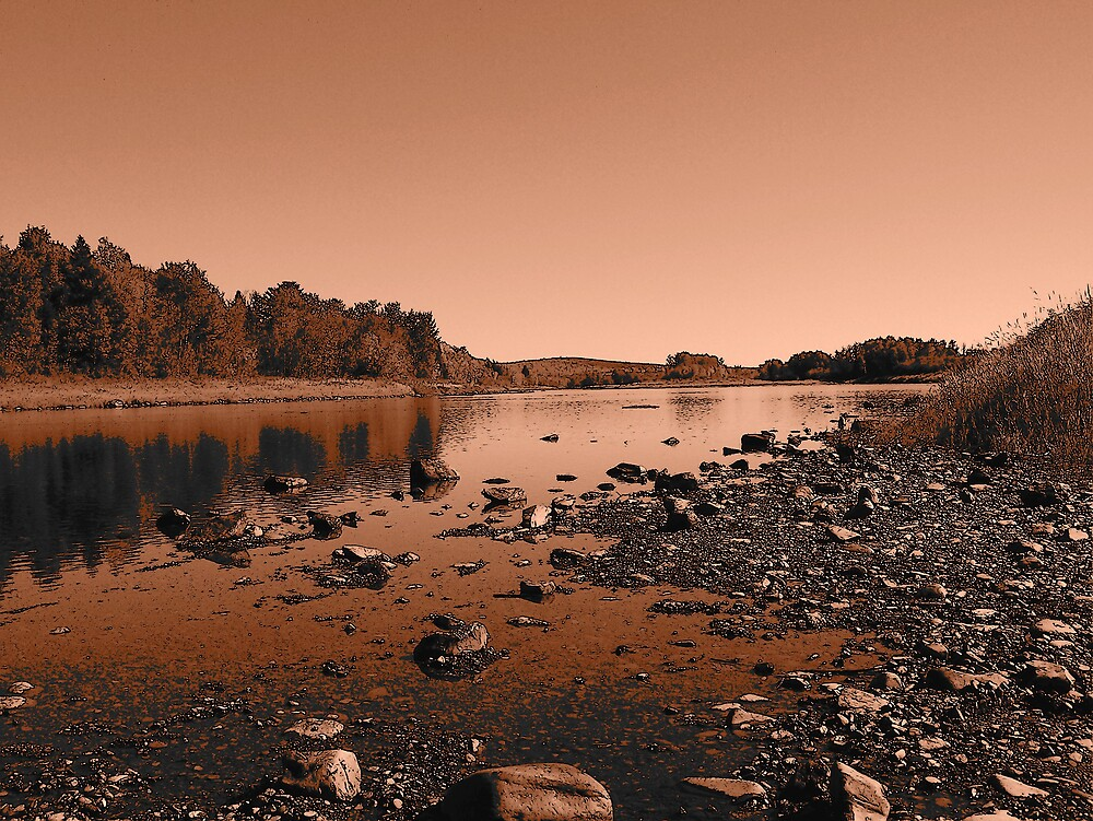 Maine's Aroostook River by Gene Cyr