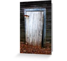 The Crooked Door Greeting Card