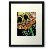 sunflowers kill the shadow Framed Print