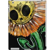 sunflowers kill the shadow iPad Case/Skin