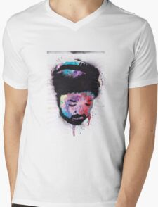 Nujabes Mens V-Neck T-Shirt