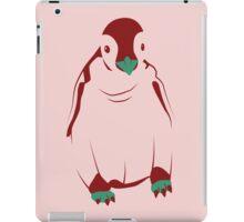 Festive Penguin, Red iPad Case/Skin