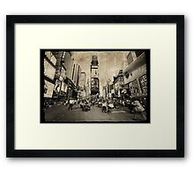 New York, New York... Framed Print