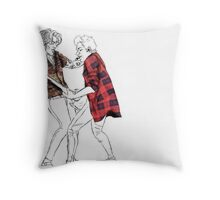 Narry on Stage Throw Pillow