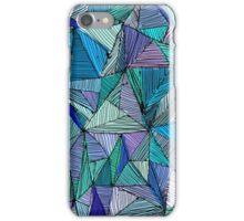 Triangle Sea Tones iPhone Case/Skin