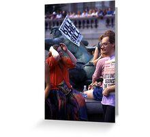 Trafalgar Democrats (2) Greeting Card