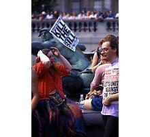 Trafalgar Democrats (2) Photographic Print